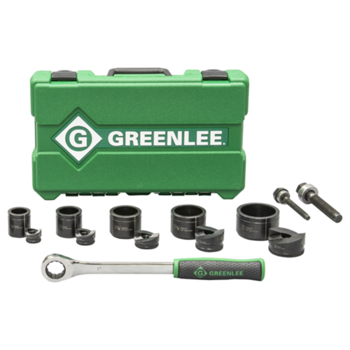 Greenlee Slug Buster Ratchet Set